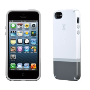 Speck Candyshell Flip iPhone 5s and iPhone 5 Case White / Graphite Grey / Pebble Grey