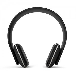 Leme EB20A Wireless Ergonomic Bluetooth 4.0 Over Ear Headphone with Built-in Mic and 12 Hour Battery, with Noise Reduction and Echo Cancellation, Perfect Headset for Gaming and Music (Black)