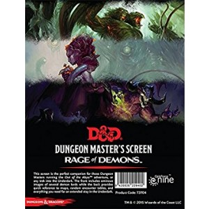Gale Force 9 DandD Rage of Demons DM Screen Board Games