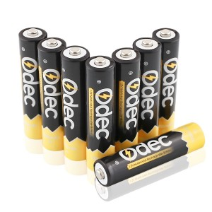 Odec AAA Rechargeable Batteries - 8 Pack Ni-MH 1000mAh Deep Cycle 1.2V Battery Pack