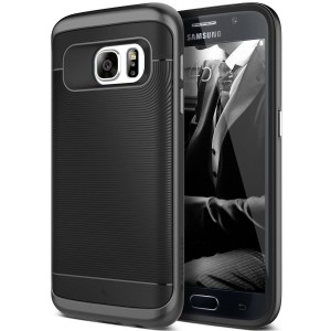 Galaxy S7 Case, Caseology [Wavelength Series] Textured Pattern Grip Cover Shock Proof for Samsung Galaxy S7 (2016) - Black