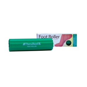 TheraBand Foot Roller for Foot Pain Relief, Massage Ball Roller for Arch Pain, Plantar Fasciitis Treatment, Heel Spurs Reliever, Tired Feet, Best Foot Massager with Ridges for Self Myofascial Release