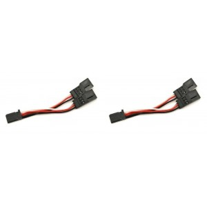2 x Quantity of Walkera Runner 250 (R) Advanced GPS Quadcopter Drone JST Male Power Connector Plug Y-adapted HXT Power Extension Banana Connector - FAST FROM Orlando, Florida USA!