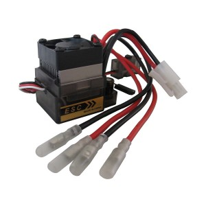powerday 320A High Voltage V2 Brushed ESC Speed Controller BEC : 5.6V 2A for off-road 1/10 1/12 RC 4WD Car Truck Buggy or boat /ship