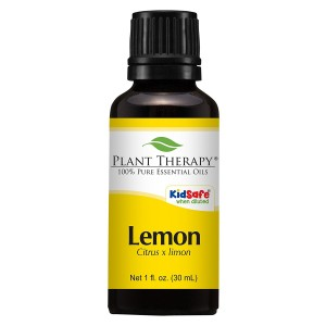 Plant Therapy Lemon Steam Distilled Essential Oil. 100% Pure, Undiluted, Therapeutic Grade . 30 ml (1 oz).
