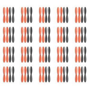 20 x Quantity of Radio Shack Surveyor Drone Black Orange Propeller Blades Propellers Props - FAST FROM Orlando, Florida USA!