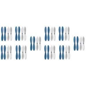 2 x Quantity of Radio Shack Surveyor Drone Blue Clear Propeller Blades Props 5x Propellers Transparent - FAST FROM Orlando, Florida USA!