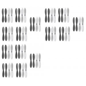 3 x Quantity of X-Drone Nano H107R Black Clear Propeller Blades Props 5x Propellers Transparent - FAST FROM Orlando, Florida USA!