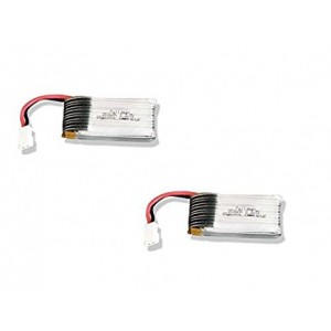 2 x Quantity of Walkera Runner 250 (R) Advanced GPS Quadcopter Drone 3.7v 350mAh 25c Lipo Battery Rechargeable Power Pack HM-V100D03BL-Z-12 - FAST FREE SHIPPING FROM Orlando, Florida USA!