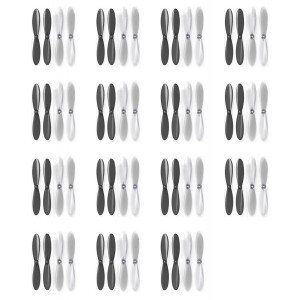 15 x Quantity of Radio Shack Surveyor Drone Black Clear Propeller Blades Props Propellers Transparent - FAST FROM Orlando, Florida USA!