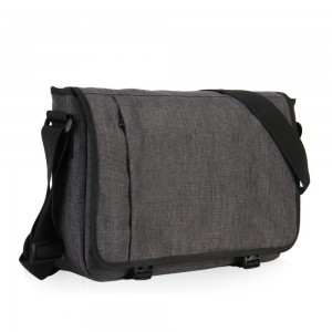 Hynes Eagle Laptop Messenger Bag for 15-inch (Dark Grey)