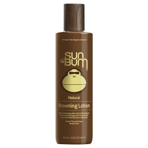 Sun Bum Moisturizing Browning Lotion, 8.5oz Bottle, Tanning Lotion, Certified Organic Coconut Oil, Aloe Vera