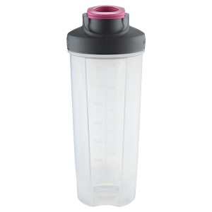 Contigo Shake and Go Fit Mixer Bottle, 28oz, Neon Pink