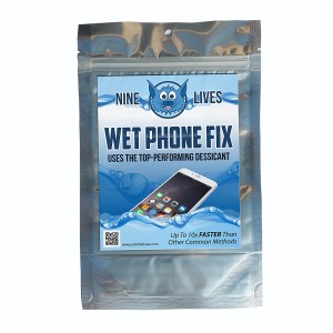 PackFreshUSA 9Lives1 Nine Lives Wet Phone Fix, Water Damage Rapid Drying System