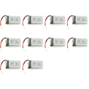 10 x Quantity of Radio Shack Surveyor Drone Battery 3.7v 375mAh 25c Li-Po RC Part - FAST FROM Orlando, Florida USA!