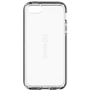 Speck Products CandyShell Clear Cell Phone Case for iPhone SE/5/5S - Retail Packaging - Clear