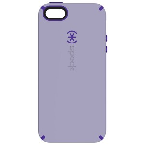 Speck Products CandyShell Cell Phone Case for iPhone SE/5/5S - Retail Packaging - Heather Purple/UltraViolet Purple