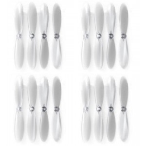 4 x Quantity of Extreme Fliers Micro Drone 2.0 Clear Propeller Blades Props Transparent Propellers - FAST FROM Orlando, Florida USA!