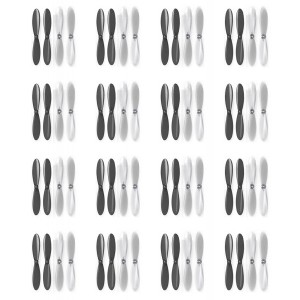 16 x Quantity of Extreme Fliers Micro Drone 2.0 Black Clear Propeller Blades Props Propellers Transparent - FAST FROM Orlando, Florida USA!