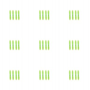 9 x Quantity of Cheerson CX-11 All Green Nano Quadcopter Propeller blade Set 32mm Propellers Blades Props Quad Drone parts - FAST FROM Orlando, Florida USA!