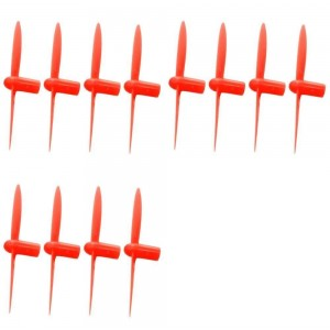 3 x Quantity of WLtoys V272 All Red Nano Quadcopter Propeller blade Set 32mm Propellers Blades Props Quad Drone parts - FAST FROM Orlando, Florida USA!
