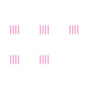 5 x Quantity of WLtoys V282 All Pink Nano Quadcopter Propeller blade Set 32mm Propellers Blades Props Quad Drone parts - FAST FROM Orlando, Florida USA!