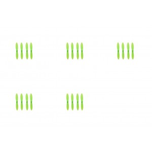 5 x Quantity of Cheerson CX-11 All Green Nano Quadcopter Propeller blade Set 32mm Propellers Blades Props Quad Drone parts - FAST FROM Orlando, Florida USA!
