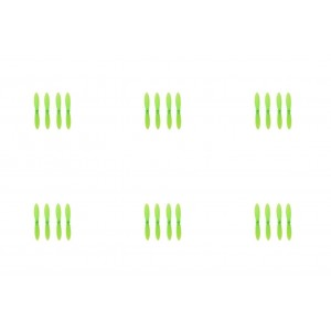 6 x Quantity of WLtoys V282 All Green Nano Quadcopter Propeller blade Set 32mm Propellers Blades Props Quad Drone parts - FAST FROM Orlando, Florida USA!