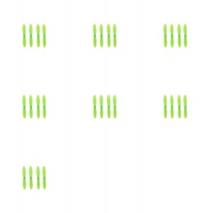 7 x Quantity of WLtoys V292 All Green Nano Quadcopter Propeller blade Set 32mm Propellers Blades Props Quad Drone parts - FAST FROM Orlando, Florida USA!
