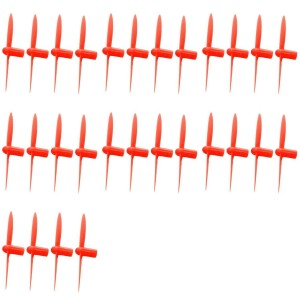 7 x Quantity of WLtoys V272 All Red Nano Quadcopter Propeller blade Set 32mm Propellers Blades Props Quad Drone parts - FAST FROM Orlando, Florida USA!