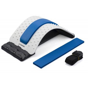 Comfort Fit Lumbar Chronic Back Pain Stretcher Device with Accupressure
