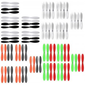 HobbyWinner Spyder X Quadcopter Drone Propeller Blades Props Main Rotors Propellers Blade 20 Sets or 80pcs - FAST FREE SHIPPING FROM Orlando, Florida USA!
