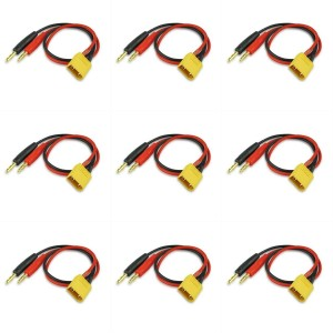 9 x Quantity of Walkera Runner 250 (R) Advanced GPS Quadcopter Drone XT-60 Charge Cable W/ Male XT60 To 4mm Banana Plug (1pc) - FAST FROM Orlando, Florida USA!
