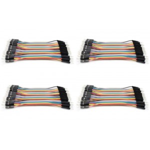 4 x Quantity of Walkera Runner 250 (R) Advanced GPS Quadcopter Drone Dupont 40 Qty 10cm 2.54mm 1pin Male to Male Jumper Wire Dupont Cables - FAST FROM Orlando, Florida USA!