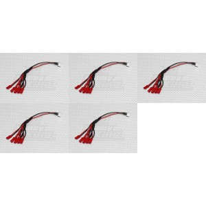 5 x Quantity of Walkera Runner 250 (R) Advanced GPS Quadcopter Drone 3S Balance Plug to 6 x JST-XH to JST LED Power Distribution Lead 6 JST - FAST FROM Orlando, Florida USA!