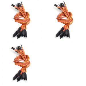 3 x Quantity of Walkera Runner 250 (R) Advanced GPS Quadcopter Drone 10X 15CM Servo Lead Extension (JR) 26AWG (Servo Connector) Wire Cable - FAST FREE SHIPPING FROM Orlando, Florida USA!