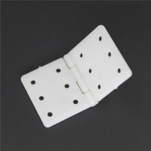 """16x28 mm 0.63"""" x1.1'' Pinned Nylon Hinges RC Airplane Plane Parts Replacement (Pack of 20)"""