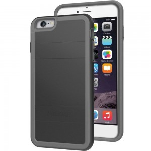 Pelican Cell Phone Case for Apple iPhone 6/6s - Retail Packaging - Black/Gray
