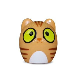 My Audio Pet (Gen 1) Mini Bluetooth Animal Wireless Speaker with Powerful Rich Room-filling Sound - 3W audio driver - Remote Selfie Function - for iPhone/iPad/iPod/Samsung/HTC/Tablets - CLASSICAL CAT