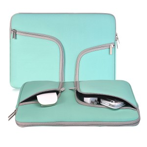 Egiant Laptop Sleeve Case 11.6-12.3 Inch,Computer Water Resistant Carrying Bag for Surface pro 4/3/iPad/Macbook 12/Notebook/Ultrabook,Acer/Asus/Dell/Lenovo/HP/Samsung/Toshiba Chromebook(Turquoise)