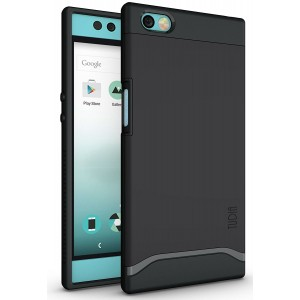 Nextbit Robin Case, TUDIA Slim-Fit HEAVY DUTY [MERGE] EXTREME Protection / Rugged but Slim Dual Layer Case for Nextbit Robin (Matte Black)