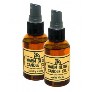 Warm Glow Candle Company Evening Mocha 2 oz Atomizer Oil (2 Pack)