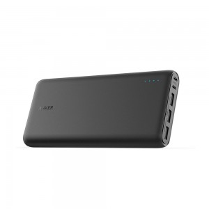 Anker PowerCore 26800 Portable Charger, 26800mAh External Battery with Dual Input Port and Double-Speed Recharging, 3 USB Ports for iPhone, iPad, Samsung Galaxy, Android (Black)
