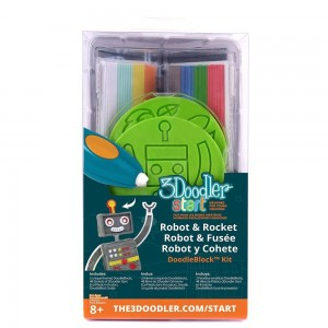 3Doodler START DoodleBlock Kit - Rocket - Robot