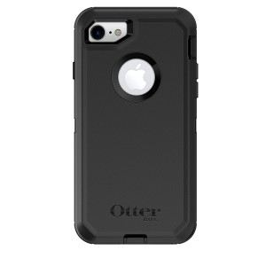 OtterBox DEFENDER SERIES Case for iPhone 8 and iPhone 7 (NOT Plus) - Frustration Free Packaging - BLACK
