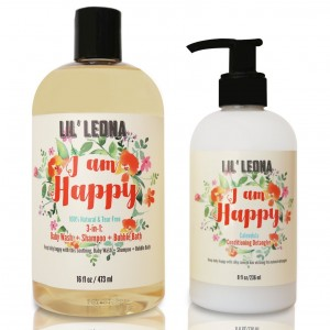 Baby Conditioner and Shampoo by Lil Leona: Cleansing conditioner and cowash for kids' hair. (24oz, Baby Conditioner and Shampoo)