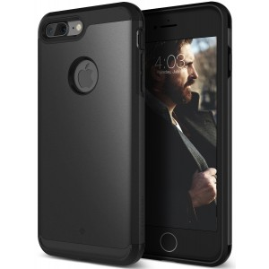 Caseology [Legion Series] Case for iPhone 7 Plus (ONLY) - Heavy Duty Slim Design Rugged Protection Corner Cushion Cover - (Matte Black)