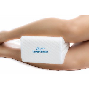 Sciatic Nerve Knee Pillow – 100% Orthopedic Memory Foam – Leading Choice for Sciatic Nerve Pain, Side Sleepers, Back Pain, Leg, Hip, Joint, and Ankle Pain. Best use during Pregnancy and Maternity.