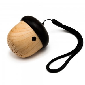 JS Portable Mini Wireless Bluetooth Nut Speaker with Sling for iPhone iPad Android and More