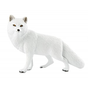 Safari Ltd. Arctic Fox – Realistic Hand Painted Toy Figurine Model – Quality Construction from Phthalate, Lead and BPA Free Materials – For Ages 3 and Up